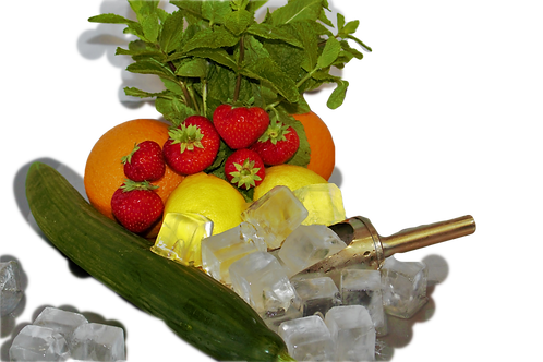 Pimm's O'clock Fruit Basket with Ice (Pimms not included)