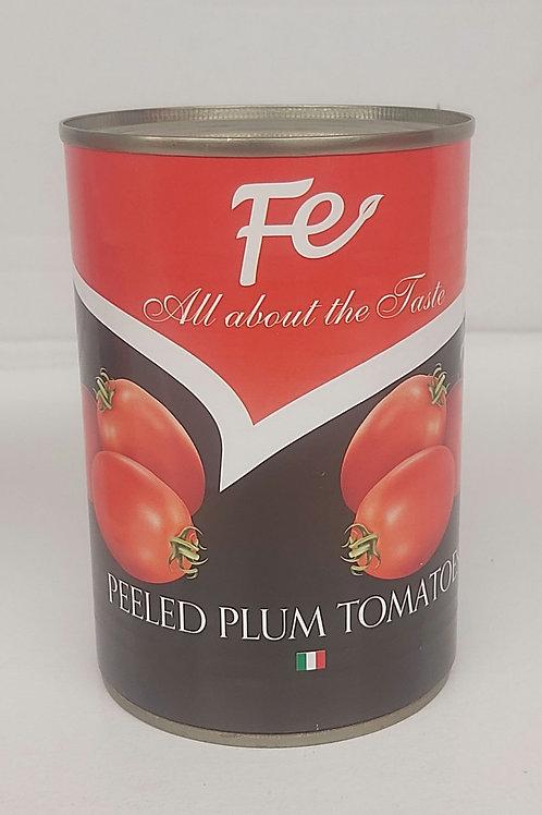 Fe Peeled  Plum Tomatoes 400g