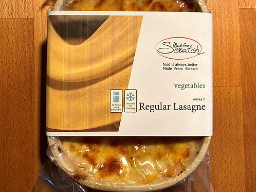 "Regular Vegetables Lasagne (500g℮) ""Pre-Orders Only"""