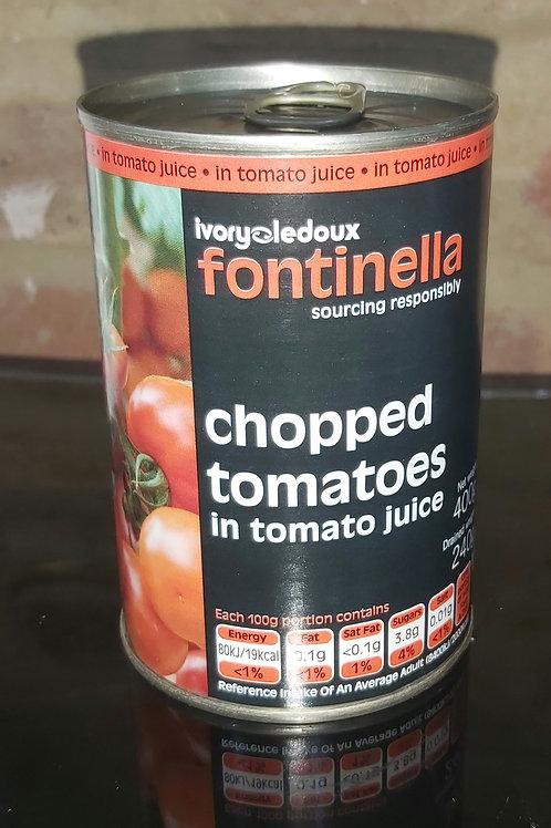 Fontinella Chopped Tomatoes 400g