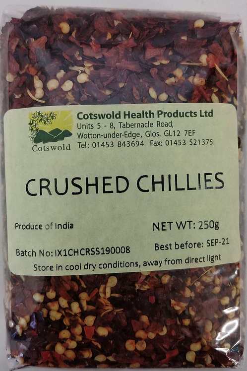 Crushed Chillies 250g