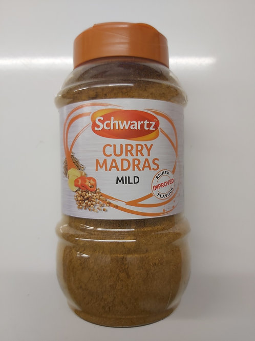 Schwartz Curry Madras mild 400g
