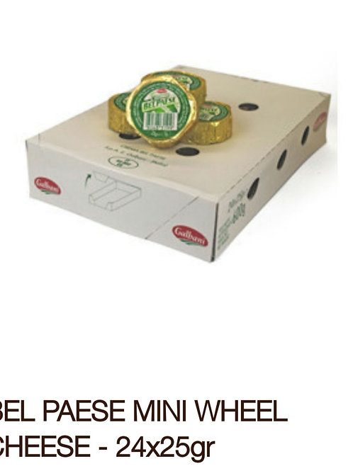 Bel Paese mini wheel cheese 24x25g