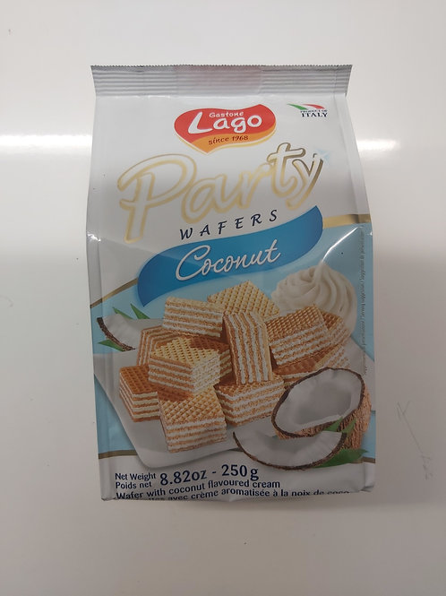 Party Wafers Coconut 250g