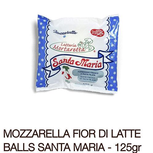 Mozzarella Fior di latte balls 125g