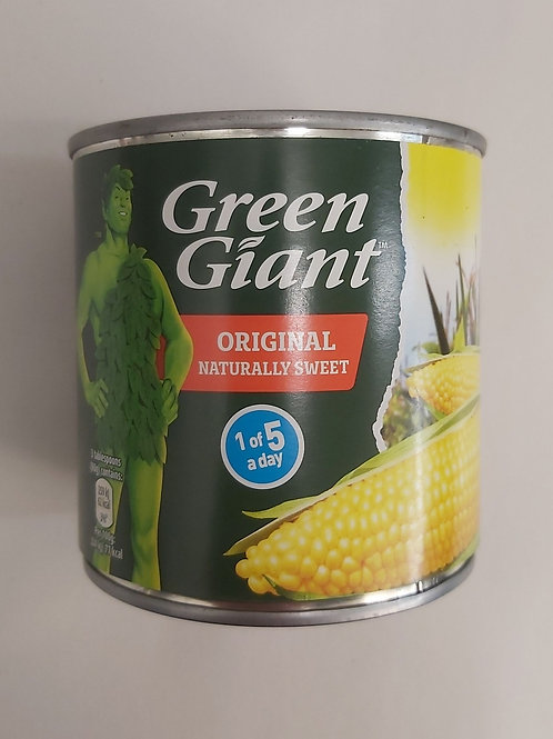 Green Giant Sweet Corn Kernels in Brine 340g