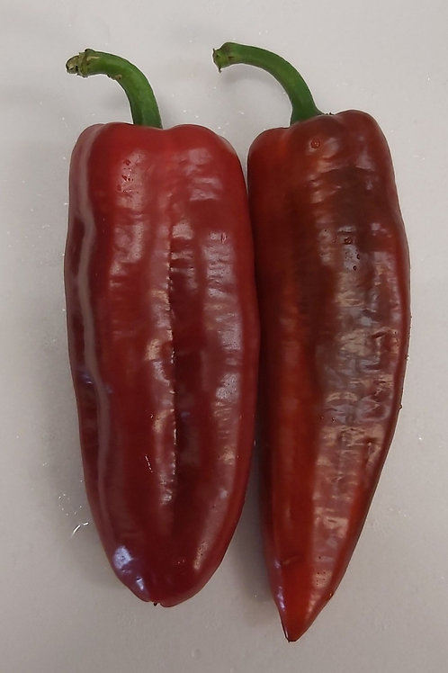 Red Romano peppers pack of 2