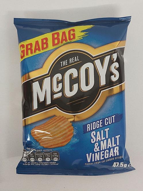 McCoy's Salt & Malt Vinegar 47.5ge
