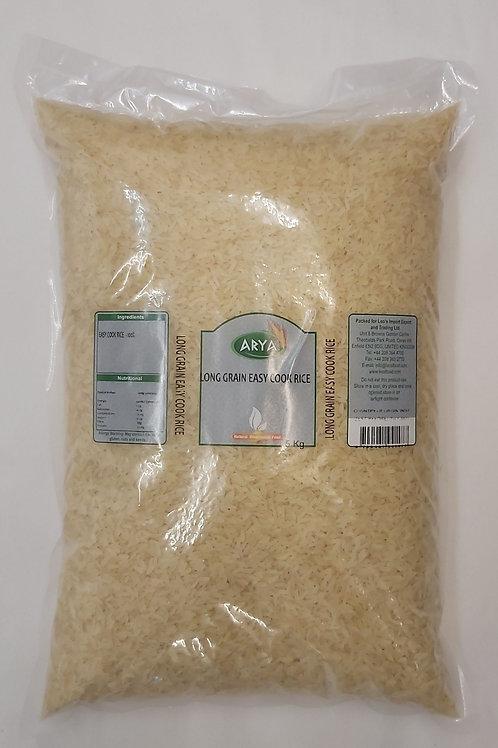 Arya's Long Grain Easy Cook Rice 5kg
