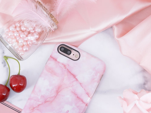 Marble Cellphone Case - Pink