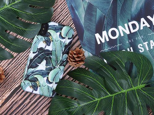 Tropical Cellphone Case - Green