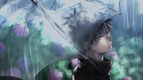 megumi_fushiguro_in_rain_with_umbrella_h