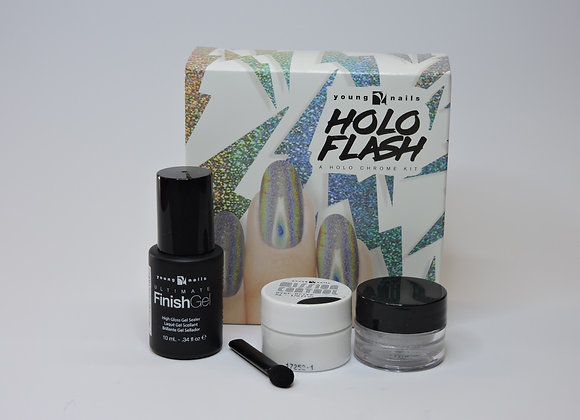Young Nails Holo Flash Kit