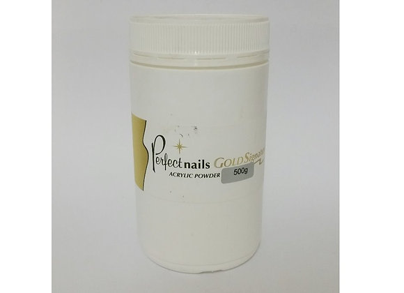 Perfect Nails Gold Signature White Acrylic Powder