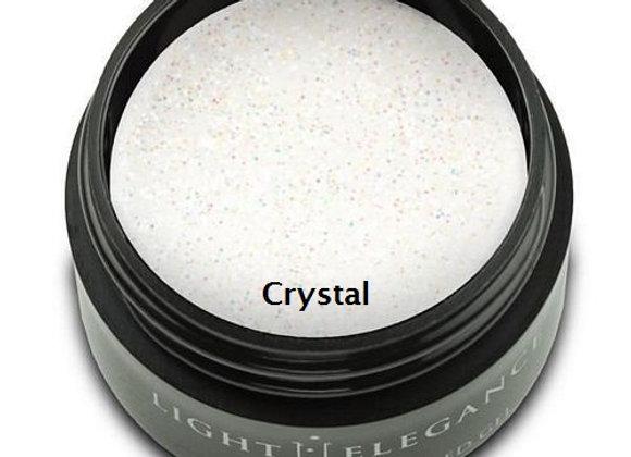Light Elegance Glitter Gels - White 1