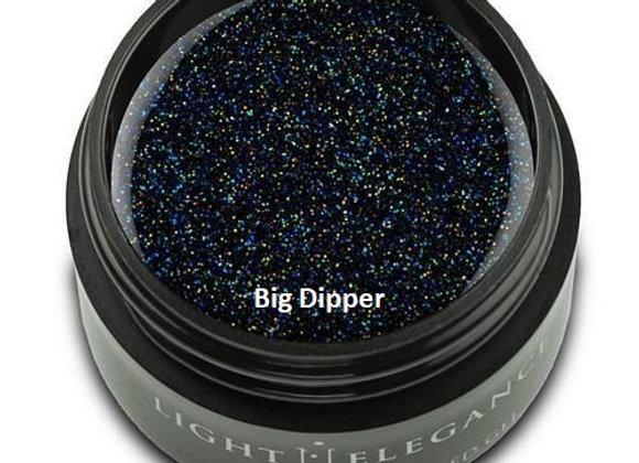 Light Elegance Glitter Gels - Blacks