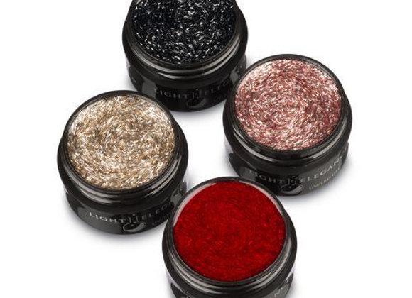 Light Elegance Glitter Gel Collection - Fuzzies