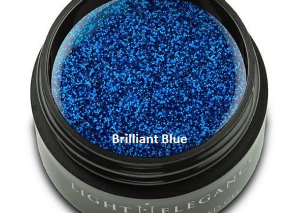 Light Elegance Glitter Gels - Blues