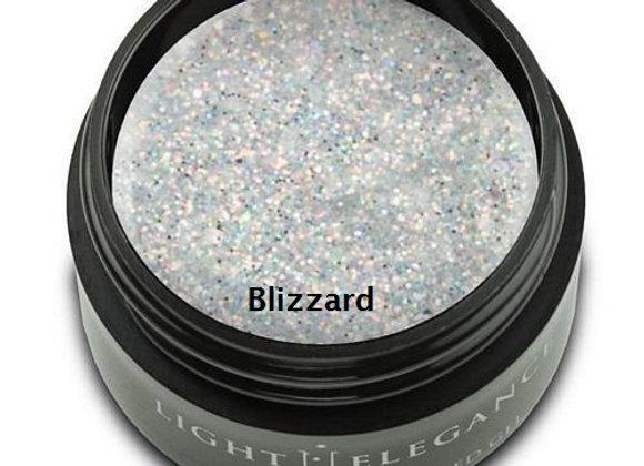 Light Elegance Glitter Gels - White 2