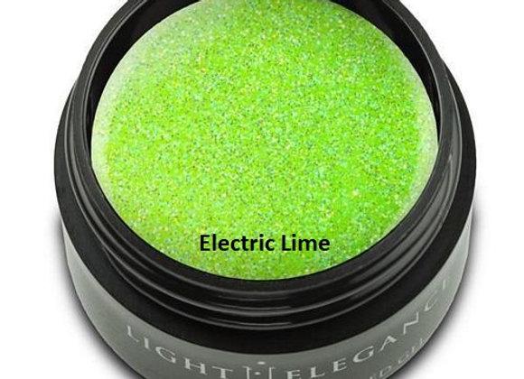 Light Elegance Glitter Gels - Green