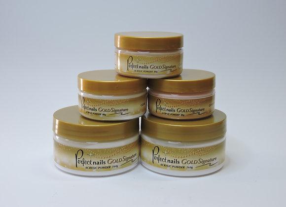Gold Signature Acrylic Powders