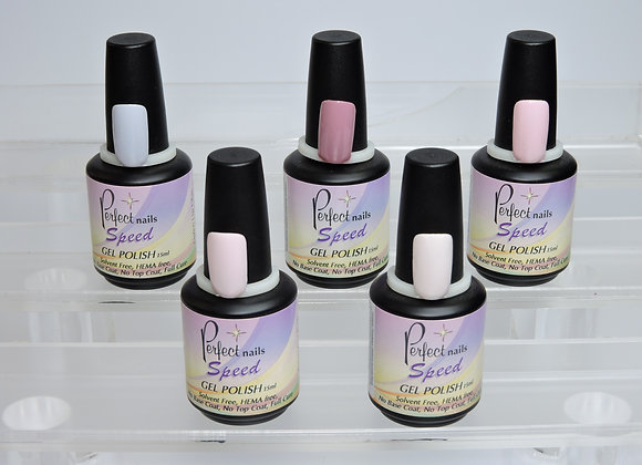 Perfect Nails Speed Gel Polish - Pinks