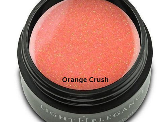 Light Elegance Glitter Gels - Oranges