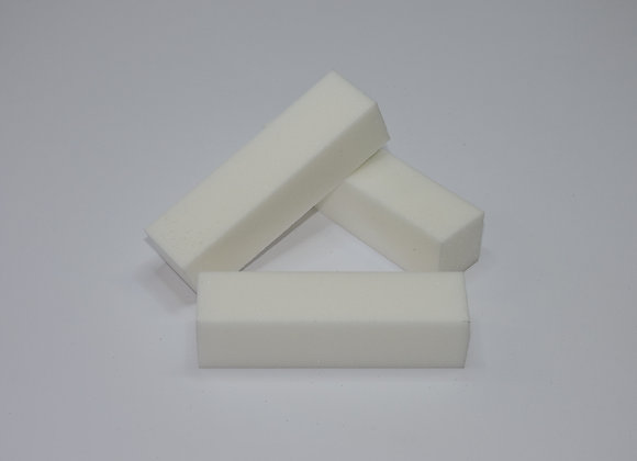 White Buffer Blocks