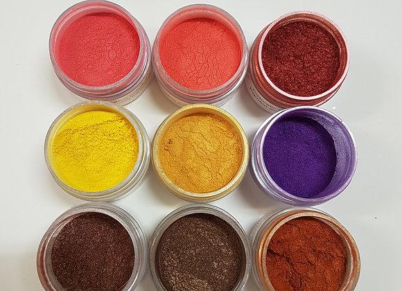 Cosmetic Grade Pigment Powders