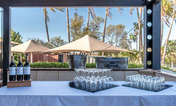 Outdoor Private Bar - Karratha International Hotle