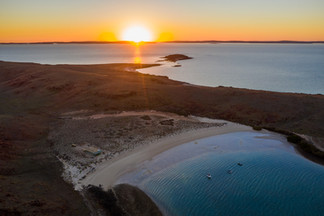 Dampier Archipelago from above