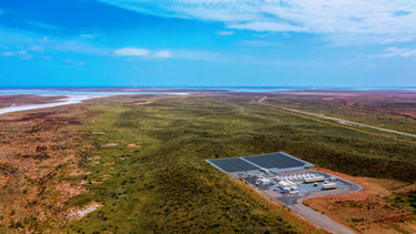 Wide Angle of Horizon Power Solar Farm - Onslow