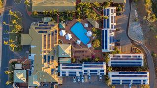 Karratha International Hotel from Above