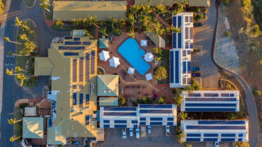 Karratha International Hotel from Above