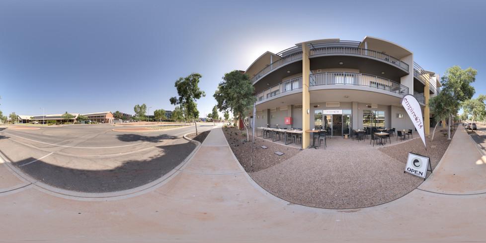 Outside Empire6714 Cafe, Karratha - Pilbara