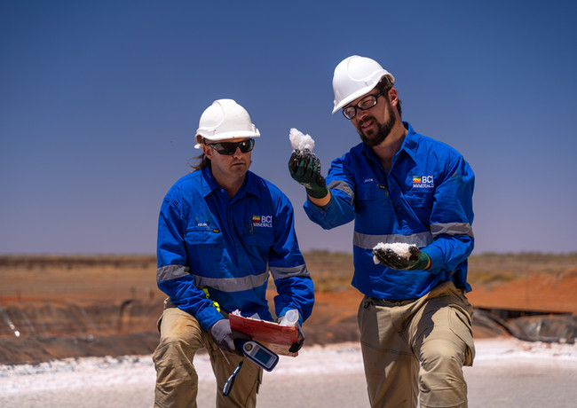 BCI Minerals - Mardie Project.