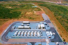 Gas, Battery Microgrid - Horizon Power, Onslow.