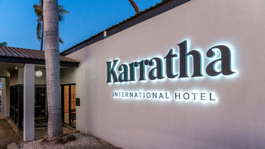 Karratha International Hotel.