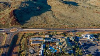 Aerial Video - Karratha International Hotel