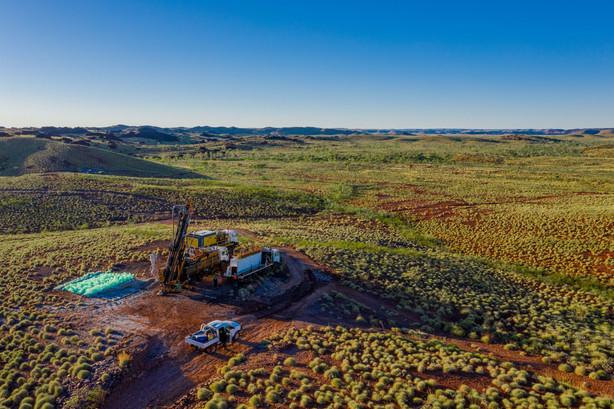 Drill Rig - Remote Pilbara Region