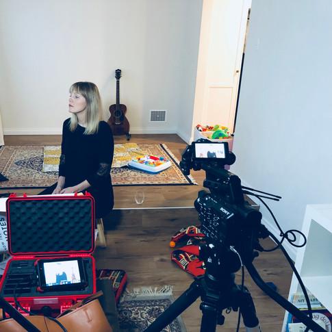 Behind the scenes - IV set up