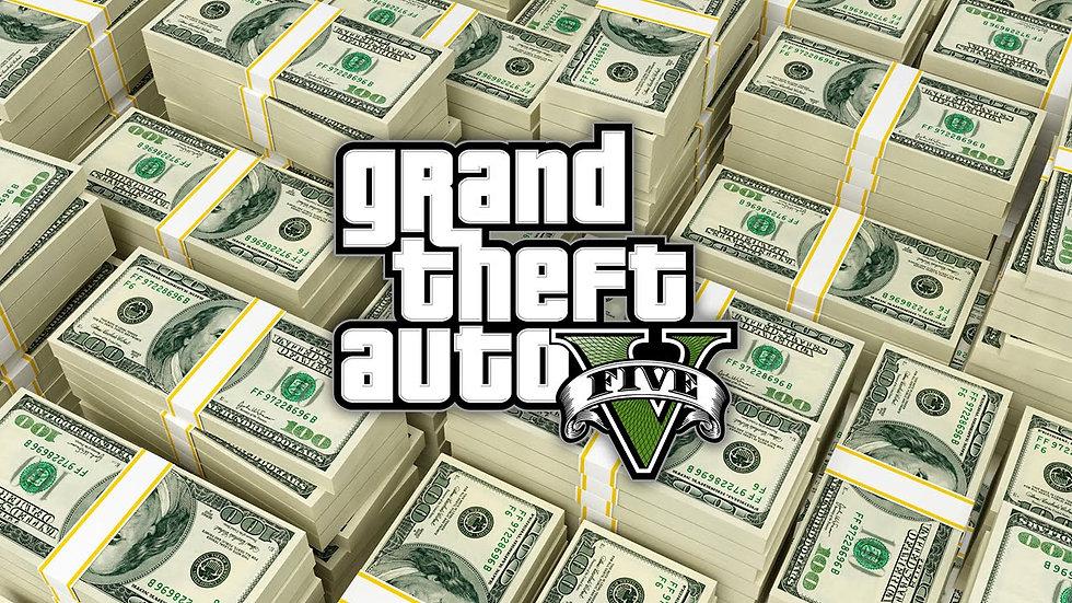 GTA5 Online 100 million $