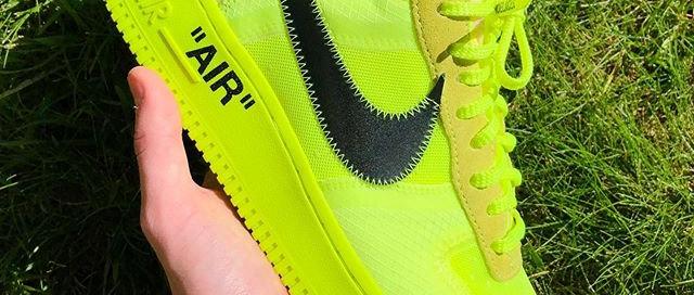Off-White x Nike AF1 Volt
