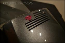 Knight's Kustoms Yamaha motorcycle