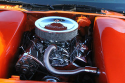 Knight's Kustoms Camaro engine bay