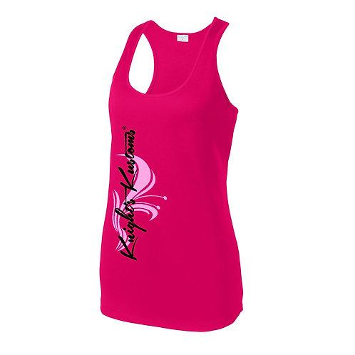 Women's  Pink Racerback Tank
