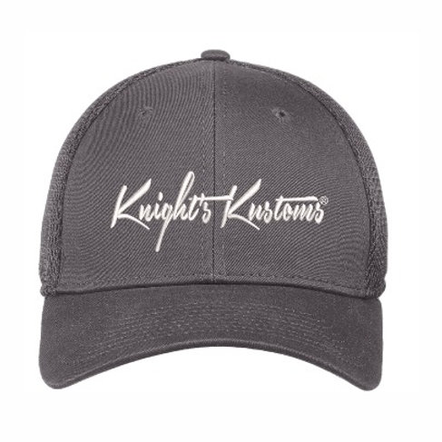 Charcoal Grey embroidered Hat