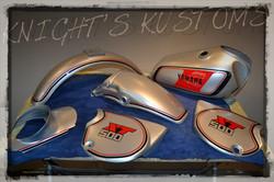 Knight's Kustoms Yamaha XT500