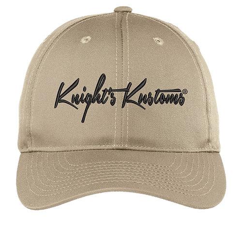 Khaki semi- structured Hat