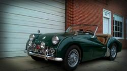 Knight's Kustoms 1957 Triumph